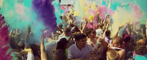 Airfield Festival – Holi In Colors (Gewinne 3×2 VIP-TICKETS)