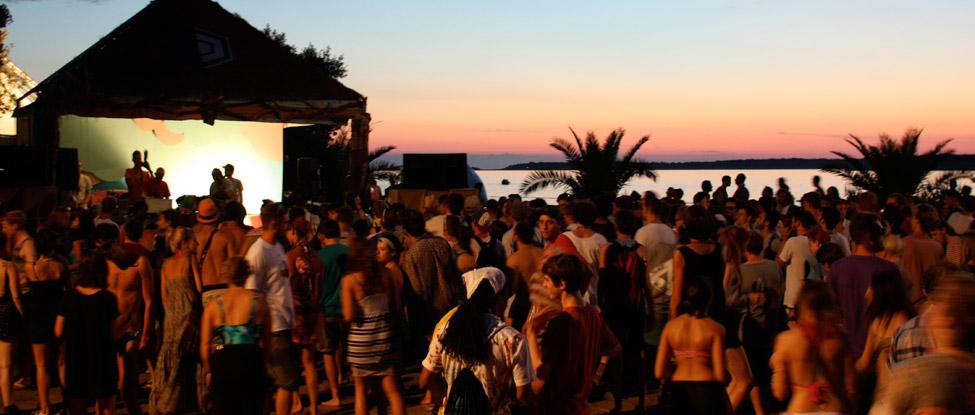 Grüße vom Dimensions Festival 2013 in Pula, Kroatien