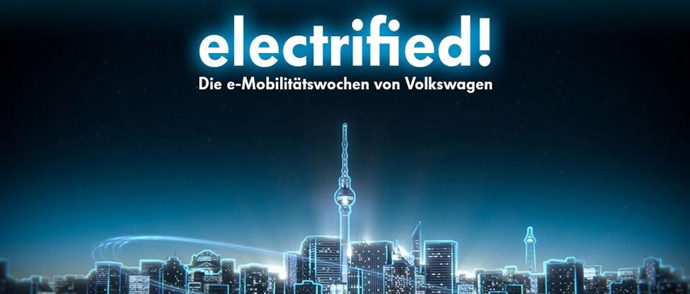 eMobilitätswochen von Volkswagen im Flughafen Tempelhof (inkl. 2×2 GL)